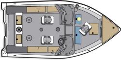 2012 - Polar Kraft Boats - V 163 WT