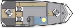 2013 - Polar Kraft Boats - Sportsman1654 SE