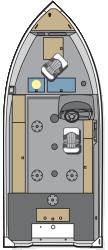 2016 - Polar Kraft Boats - Outlander 160 SC