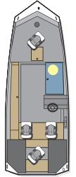 2016 - Polar Kraft Boats - Sportsman 1760 SE