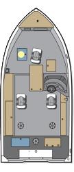 2016 - Polar Kraft Boats - Frontier 179 SC