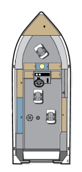 2016 - Polar Kraft Boats - Outlander 186 CC