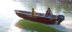 2017 Polar Kraft Boats 1670 Dakota