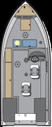2020 - Polar Kraft Boats - Outlander 156 SC