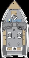 2020 - Polar Kraft Boats - Frontier 166 WT