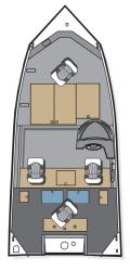 2020 - Polar Kraft Boats - Bass TX 165
