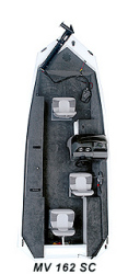 Polar Kraft Boats MV162SC Bass Boat