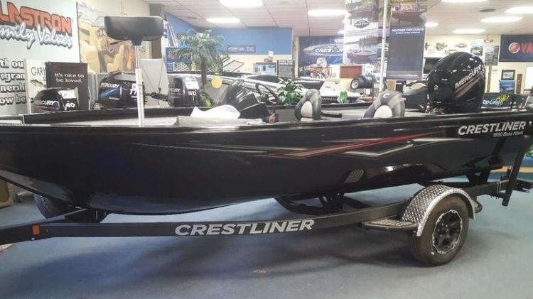 2018 crestliner boats 1850 bass hawk ravenna oh for sale 44266 rh boats iboats com