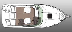2012 - Rinker Boats - Express Cruiser 230 CC