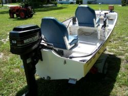 2012 - Salty Boats - SSB 980 Stick Steer