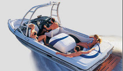 Sanger Boats DLX Ski and Wakeboard Boat