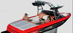 Sanger Boats V215 Ski and Wakeboard Boat