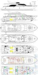 2013 - San Marino Yachts - 78 Blue Prints