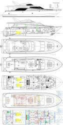 2017 - San Marino Yachts - 78 Blue Prints