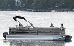 Sanpan Boats SP2200 BC-4 Gate Pontoon Boat