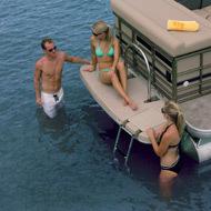 Sanpan Boats SP2500 FE IO Pontoon Boat