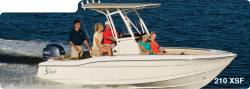 2014 - Scout Boats - 210 XSF