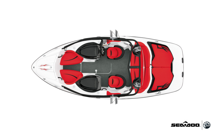 Research 2009 - SeaDoo Boats - Speedster Wake on iboats com