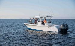 2017 - Sea Hunt Boats - Gamefish 27 with Coffin Box