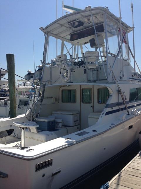 1985 bertram yacht 33 sport fisherman for sale in for Belmar nj fishing boats
