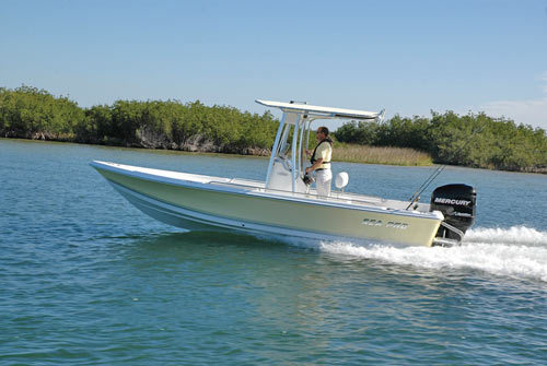 Research Sea-pro Boats