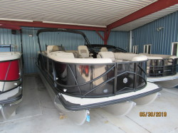 2019 24' SOUTH BAY PONTOON WITH MERCURY 115HP EFI CT FOUR STROKE