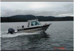 2017 - Silver Streak Boats - 25- Cabin-Nitinat
