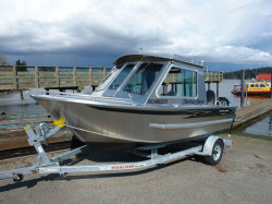 2018-Silver Streak Boats 18-6 Challenger Hard Top