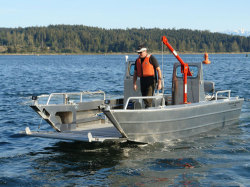 2018-Silver Streak Boats 19- Prospector-JetLanding Craft