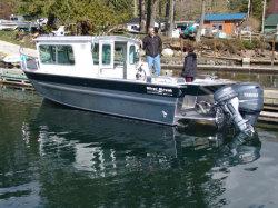 2018-Silver Streak Boats 26- Nitinat-Cabin