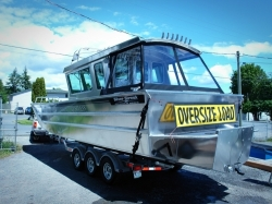 2018- Silver Streak Boats 29- Sitka Landing Craft Cabin