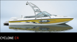 Ski Centurion Cyclone C4 Ski and Wakeboard Boat