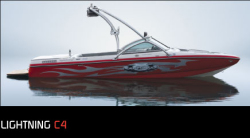 Ski Centurion Lightning C4 Ski and Wakeboard Boat