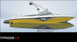 Ski Centurion Typhoon C4 Ski and Wakeboard Boat