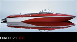 Ski Centurion Concourse C4 Ski and Wakeboard Boat