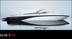 Ski Centurion Elite V-Drive C4 Ski and Wakeboard Boat