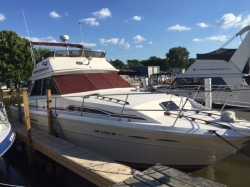 1985 Sea Ray Boats 39 SPORTFISH Harrison Township MI