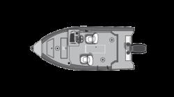 2021 - Smoker-Craft Boats - Angler 16 XL SC