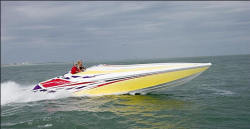 Sonic USA 358 High Performance Boat