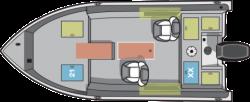 2017 - Starcraft Boats - Renegade 168 Tiller