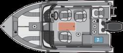 2017 - Starcraft Boats - Starfish 176 DC Fish  Ski
