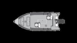 2018 - Starcraft Boats - Patriot 16 DLX TL