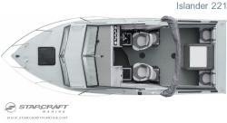 2008 - Starcraft Boats - Islander 221 IO