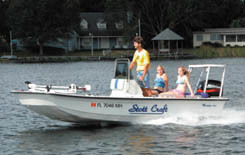 2009 - Stott Craft Boats - 1796 Skiff