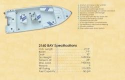 2013 - Stott Craft Boats - 2160 Bay