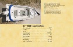 2013 - Stott Craft Boats - SCV 1700 Bay