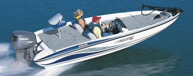 research stratos boats 275 xl bass boat on. Black Bedroom Furniture Sets. Home Design Ideas