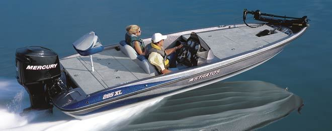 research stratos boats 285 xl bass boat on. Black Bedroom Furniture Sets. Home Design Ideas