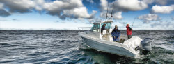 2013 - Striper Boats - 2601 Walk Around OB