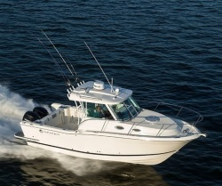 2018 - Striper Boats - 270 Walk Around OB Twin